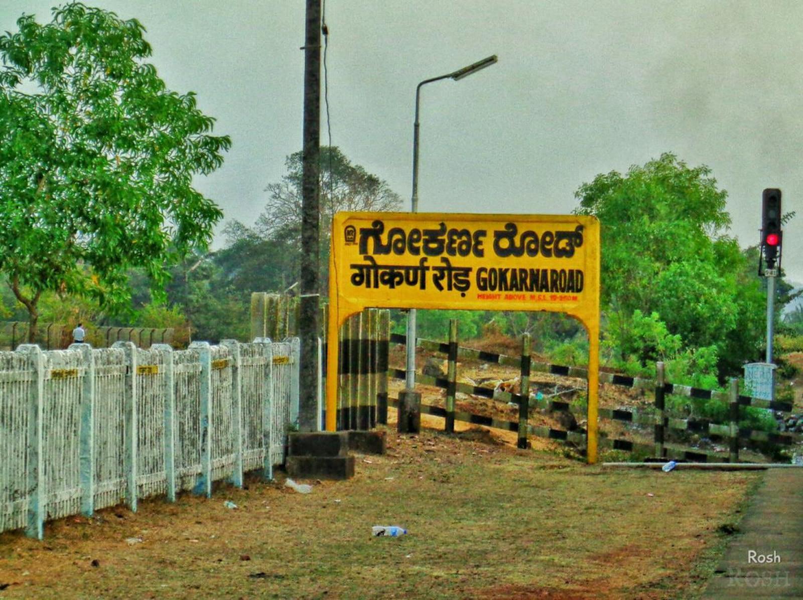 Gokarna road train station